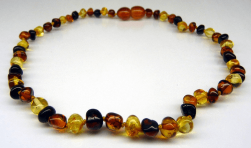 Multicolour Baby Amber Necklace